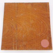 Sapele square bowl blank - 320 x 315 x 40mm
